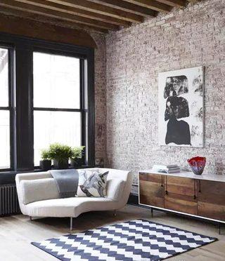 裸砖背景墙设计图片
