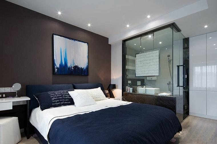 88平的幸福空间卧室效果图
