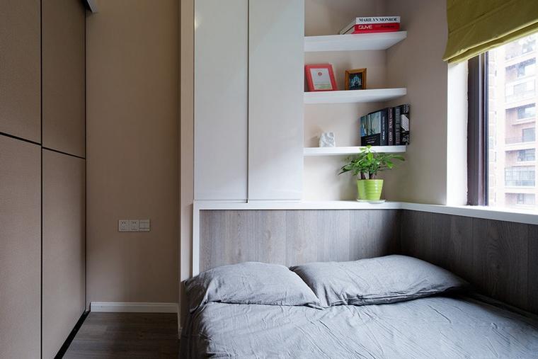 88平的幸福空间小卧室图片