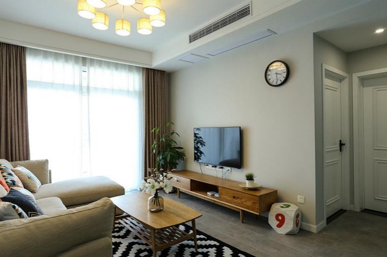 50平小户型房屋装修小客厅装潢图