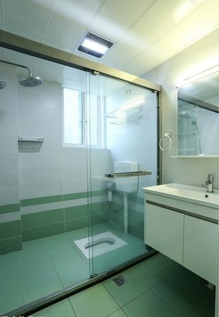 60平小户型装修卫浴间图片