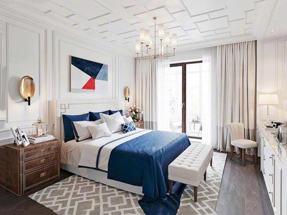 现代风格卧室图片大全