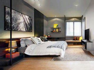 现代风格卧室装修装饰效果图