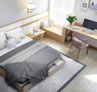 现代风格卧室装饰图