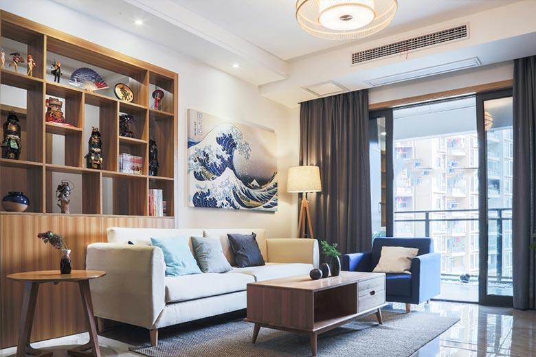73㎡日式家装设计收纳家图片