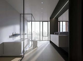 洁净空间大户型装修卫浴设计