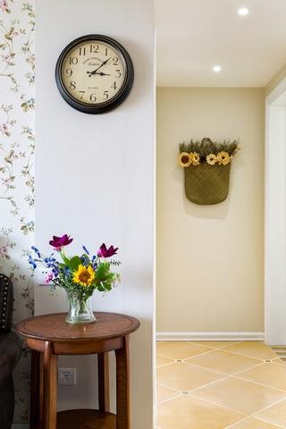 110平三居室装修绿植
