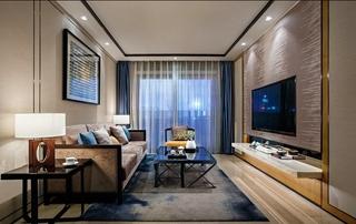 20万搞定三居室装修客厅效果图