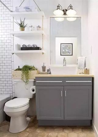 2平米卫生间收纳装修欣赏图