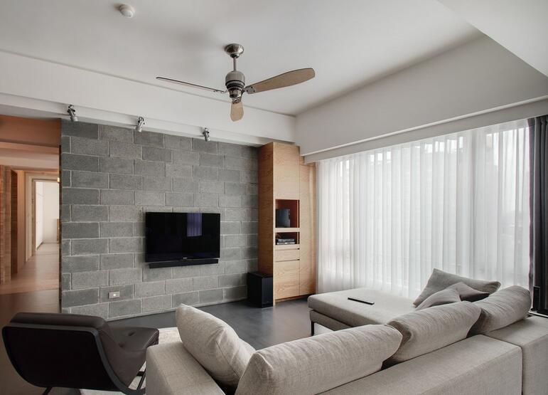 现代电视墙装修效果图大全 时尚简约电视墙打造气质客厅图片