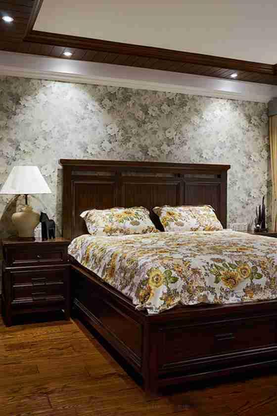 温馨有品味的别墅装修卧室效果图