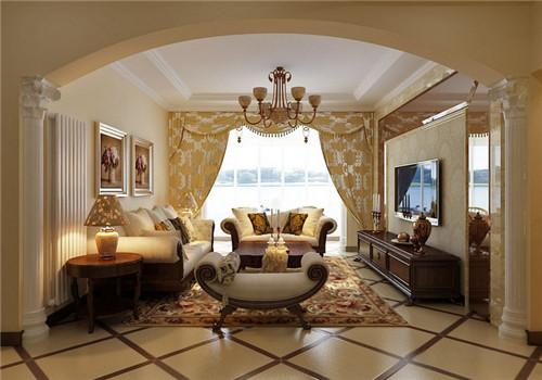 居室装修欧式风格效果图四
