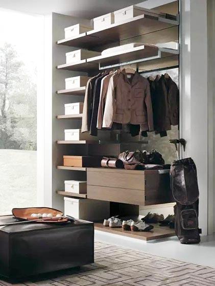 收纳型家具衣柜装修图