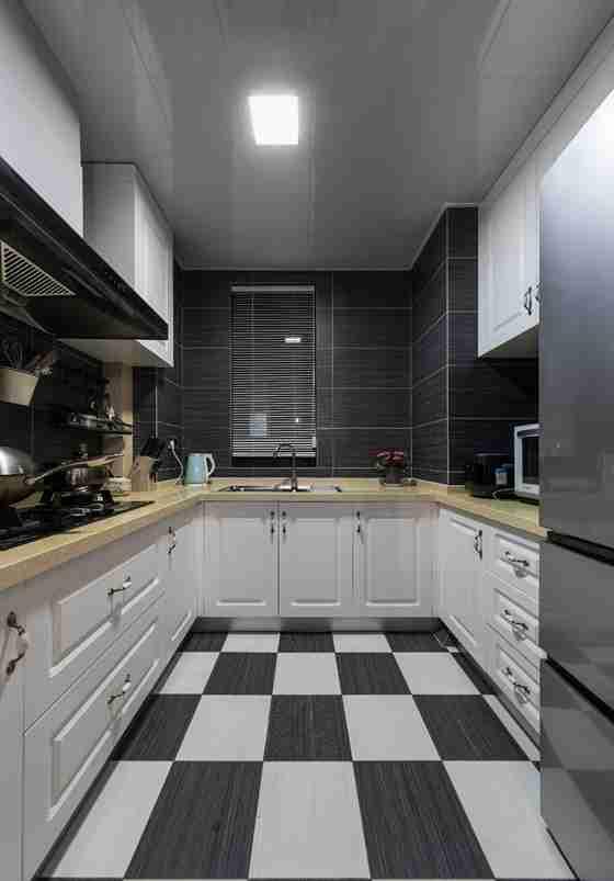 北欧风格婚房装修厨房效果图