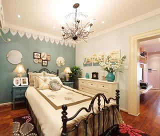 复古卧室布置摆放图