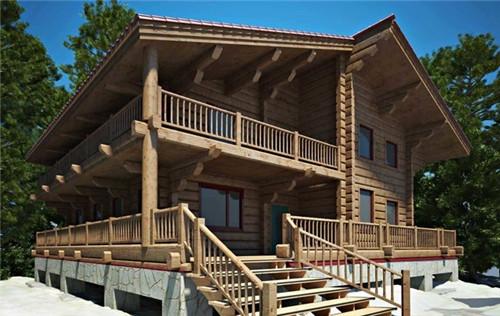 100平米木结构房屋房屋木结构优势的好坏有哪些别墅大连的价格图片