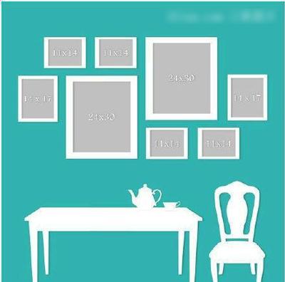 照片墙设计技巧 5大样式总有一个属于你