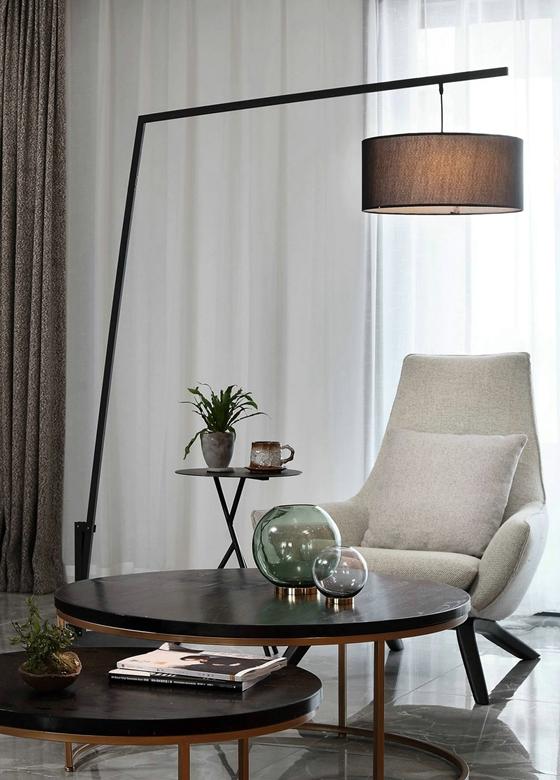 超酷复式房装修单人沙发图片