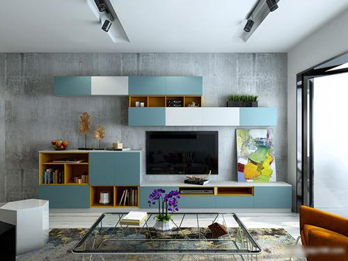 5种电视柜款式 不同风格装出别样风味图片