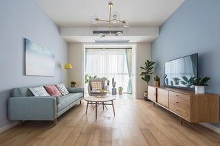 90平北欧风格装修  这样的家太完美2/16