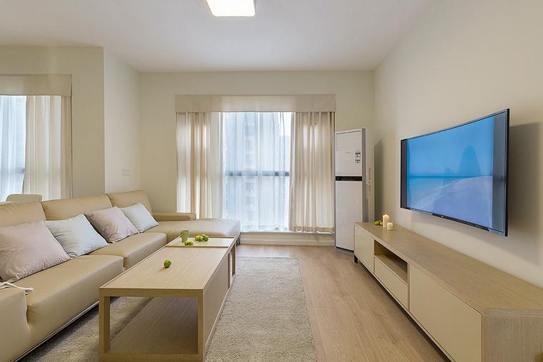 15万搞定三居室装修客厅电视柜