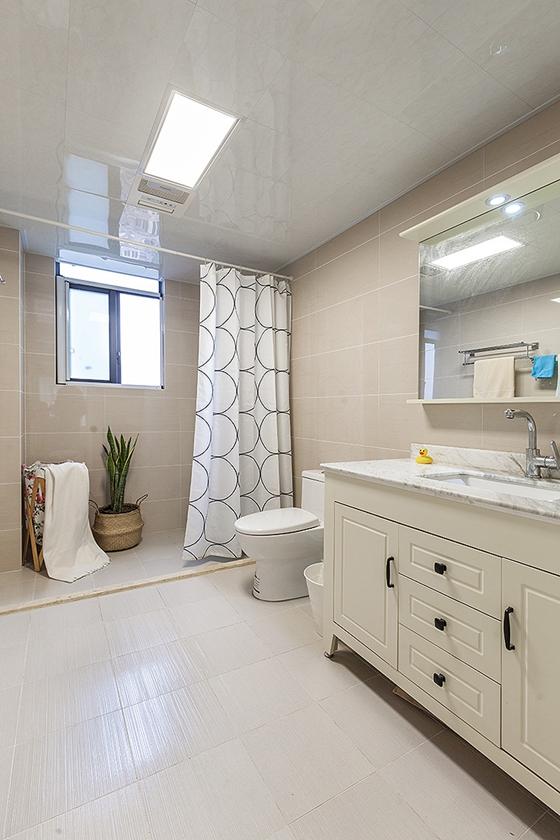 90平宜家风格装修卫生间装潢图