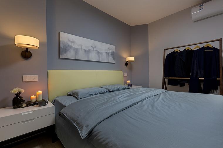 70平小户型装修卧室装潢图