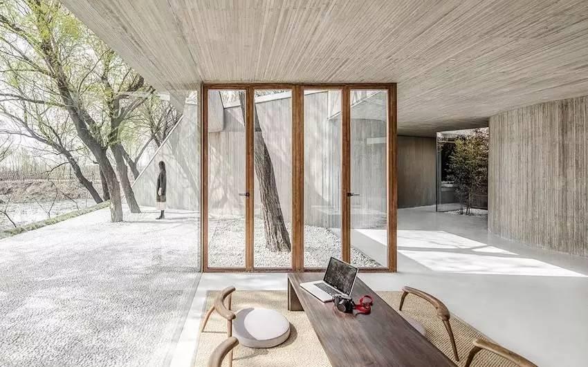 禅意空间,宁静致远!与自然共生的极简设计最有格调!