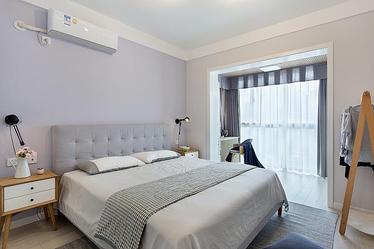 清新两居室装修次卧装修图