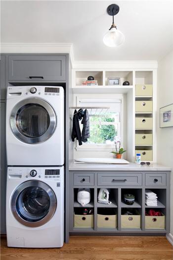 洗衣房应该怎样设计?