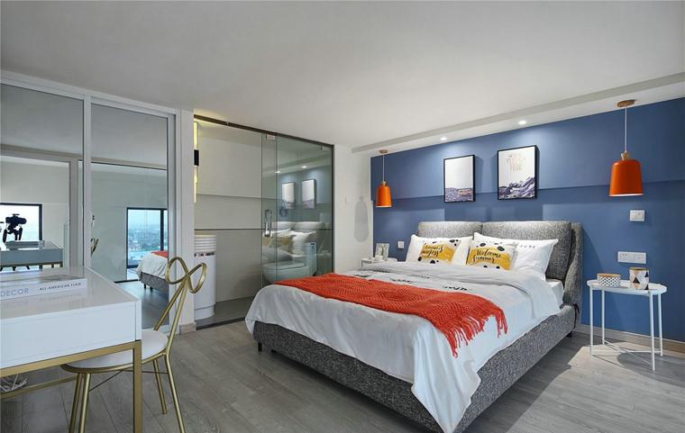 70平小户型装修卧室效果图