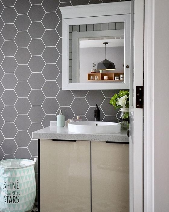 宜家风格公寓装修浴室柜图片