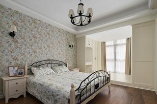 我大爱的美式风格装修卧室效果图