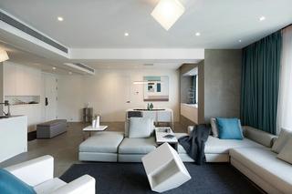 150平简约两居室装修效果图  宽敞大气2/10