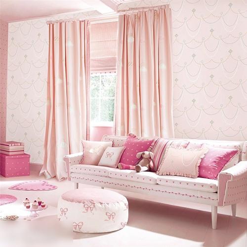 窗帘搭配4,儿童房活泼可爱
