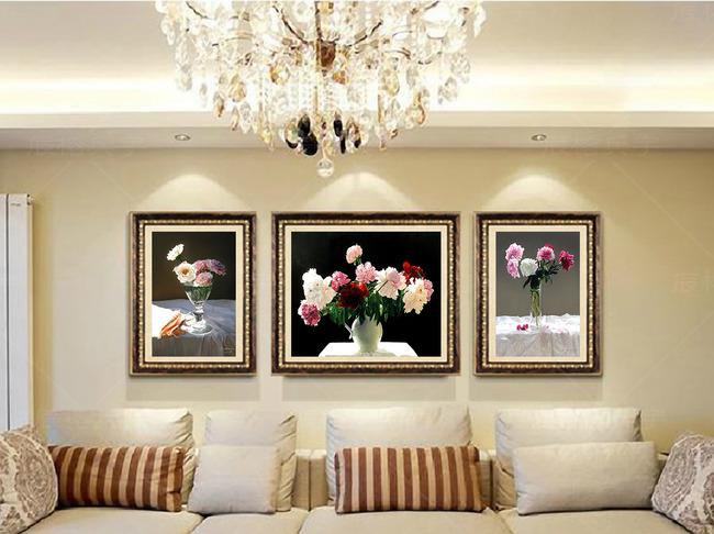背景墙 选择/一般挂画,大多选择沙发和卧室背景墙,这种摆法视觉感官更加...