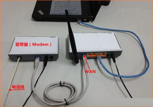 如何桥接两个无线路由器?如何连接双路路由器的详细图形方法!