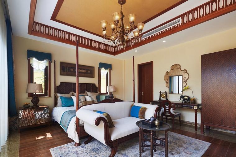 东南亚风格装修次卧装修图