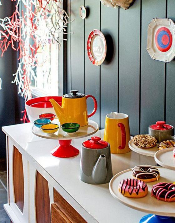 厨房中台岛图片