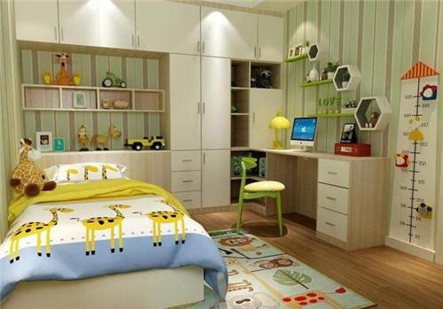 西安塞纳春天儿童房间设计注意事项