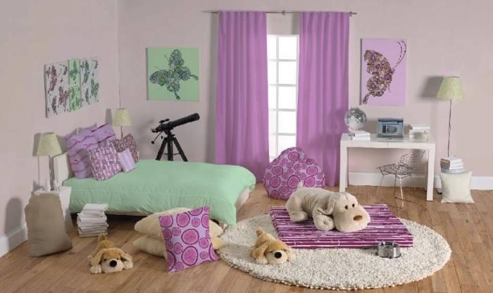 女生房间要怎么设计呢?