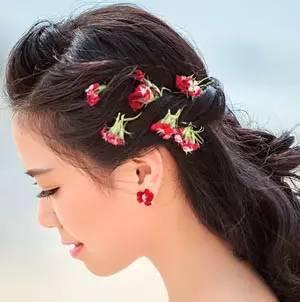 韩式新娘发型图片,2017新娘们关注的韩式发型图片