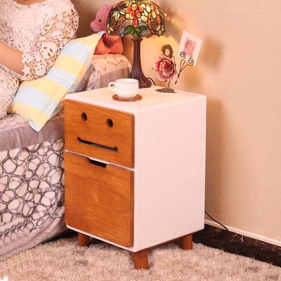 卧室贴心单品 9款床头柜陪你入眠