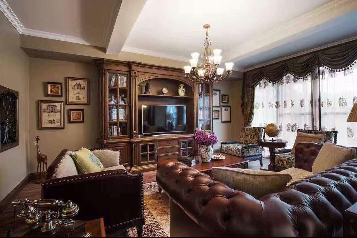 装修设计 长沙装修 长沙装修案例 古典美式风格   赞一下: 0 提出您的图片
