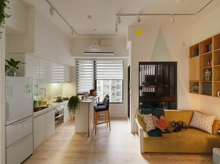 小户型公寓厨房装修效果图
