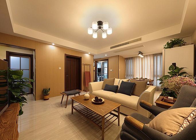 三室两厅  日式混搭风格