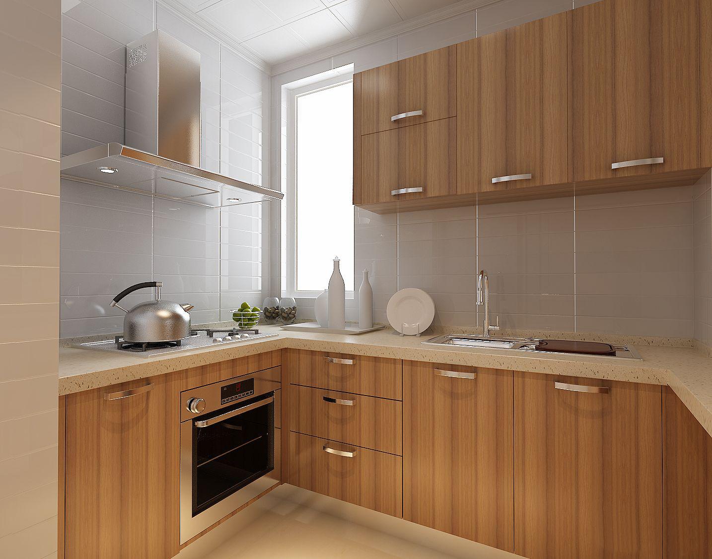 簡約風格廚房裝修設計效果圖