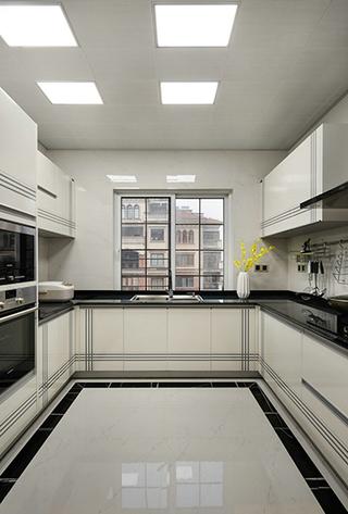 天马行空的现代简约风格厨房装潢图