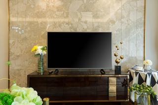 超唯美小户型设计电视背景墙图片