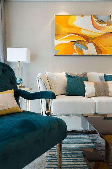 超唯美小户型设计沙发图片